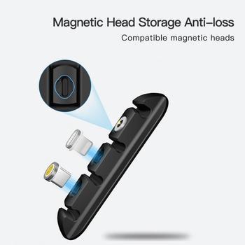 Organizer do kabli jest używany do samochodu USB uchwyt na kabel silikonowe miękkie aby zorganizować kable do transmisji danych wygodnie i szybko oplot na kable tanie i dobre opinie centechia CN (pochodzenie) MA255417 Support