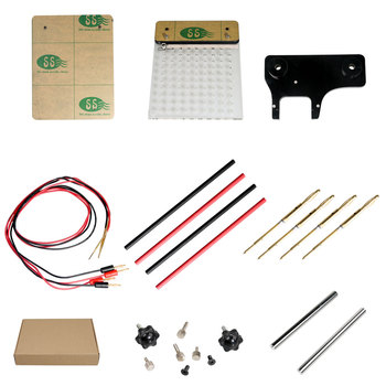 High Quality LED BDM Frame 2 in 1 with Mesh and 4 Probe Pens for FGTECH BDM100 KESS KTAG K-TAG ECU Programmer Tool