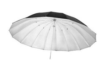 Ultralarge 150cm diameter measurement professional black silver reflector umbrella advertising umbrella sun umbrella jinbei
