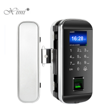 Door-Lock Touch-Keypad Smart-Card Glass Fingerprint Electric Sliding-Door Keyless