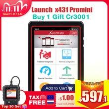 LAUNCH X431 Pro Mini Car Auto Full System Diagnostic Tool Automotive Wifi Bluetooth OBD2 Scanner 2 year free update PK Diagun IV