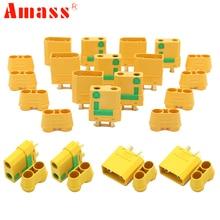 Amass XT90S XT90-S connecteur de balle mâle/femelle Anti étincelle pour Lipo batterie connecteur FPV Drone quadrirotor voiture camion jouets