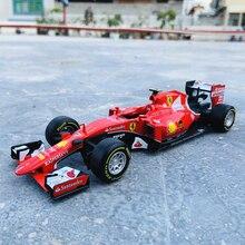 Bburago 1:24 F1 2015 Ferrari SF15-T Formula One simulation alloy car model crafts decoration collection toy tools