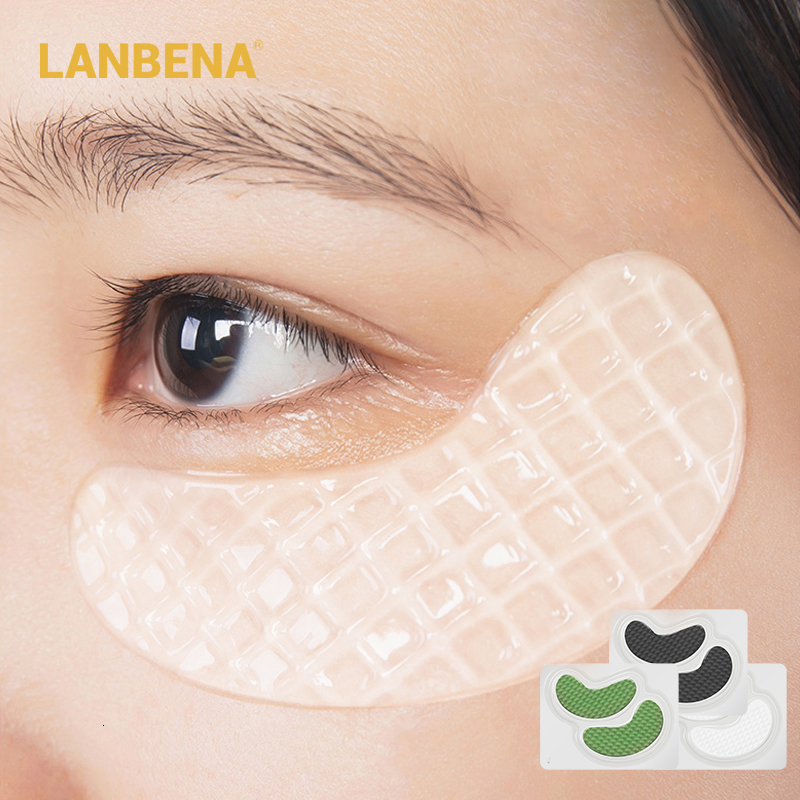 LANBENA Eye Mask Collagen Anti Aging Eye Patch Care Moisturizing Ageless Wrinkle Eye Pad Bags Remover Dark Circles Skin Care