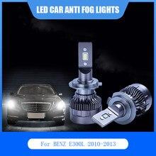 2 pces para benz e300l 2010-2013 led luzes do carro anti nevoeiro lâmpada h7 881 6000k 12v carro conduziu a luz do farol lâmpadas kit auto branco lâmpada