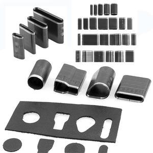 24pcs Handmade Leathercraft Tools Leather Hole Punching Hollow Hole Space Cutter Punch Mold Set DIY Leathercraft Tools