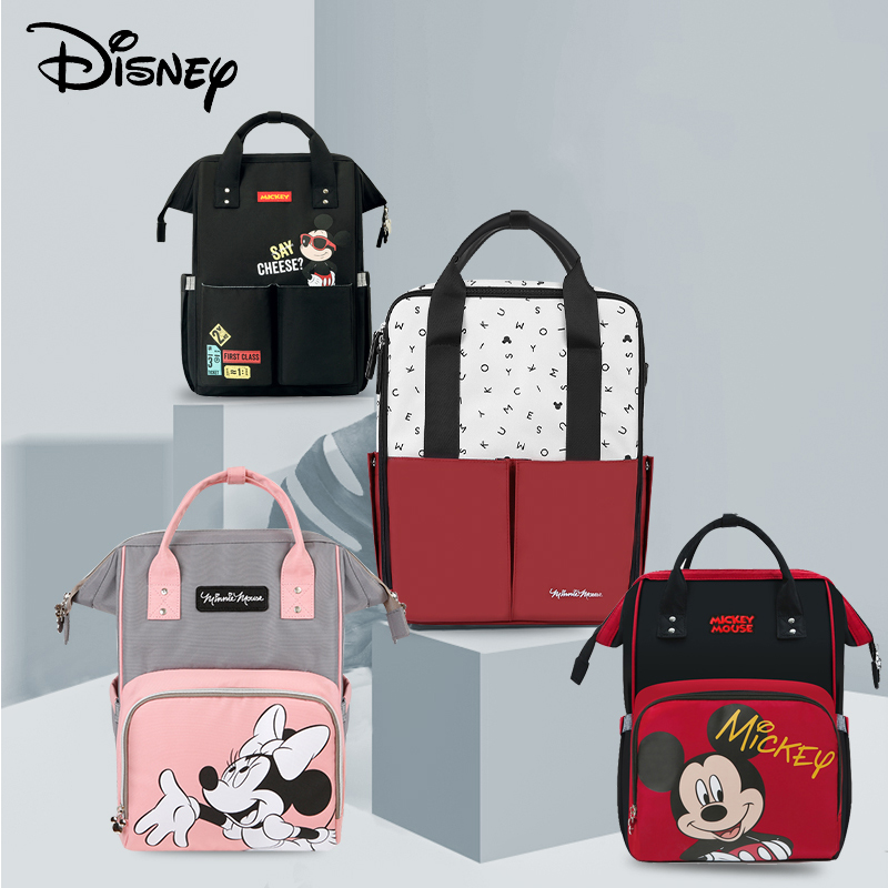 Disney Mochila Bebe Maternidade Baby Diaper Backpack With Usb Diaper Bag Organizer Stroller Waterproof Bag For Stroller Bolsos