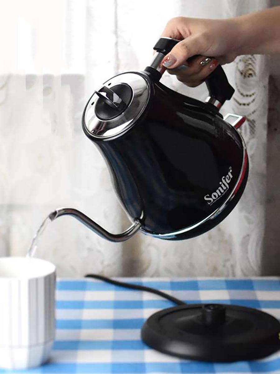 Чайник Электрический из нержавеющей стали, 304 л, 1500 В, 220 Вт