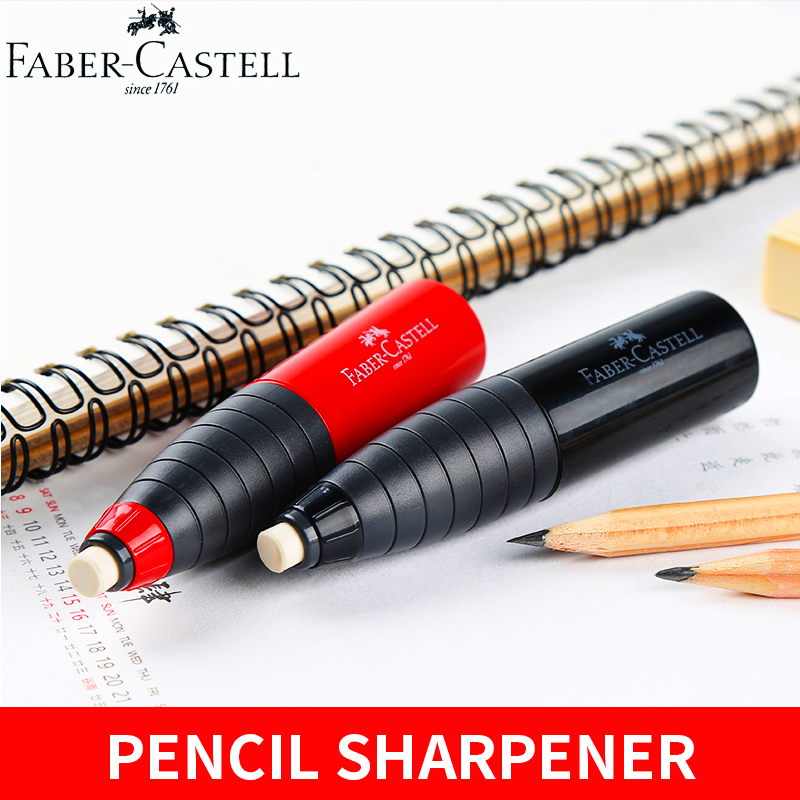 1Piece Faber Castell CASTELL 184401 Rotating Single hole Eraser Rubber Pencil Sharpener Student Stationery School Art Supplies in Pencil Sharpeners from Office School Supplies