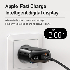 Image 3 - Mcdodo Digital Display QC3.0 USB Charger 18W PD 3.0 Fast Charge for iPhone 11 Pro SCP AFC Phone Charger Type C Macbook Tablet 6