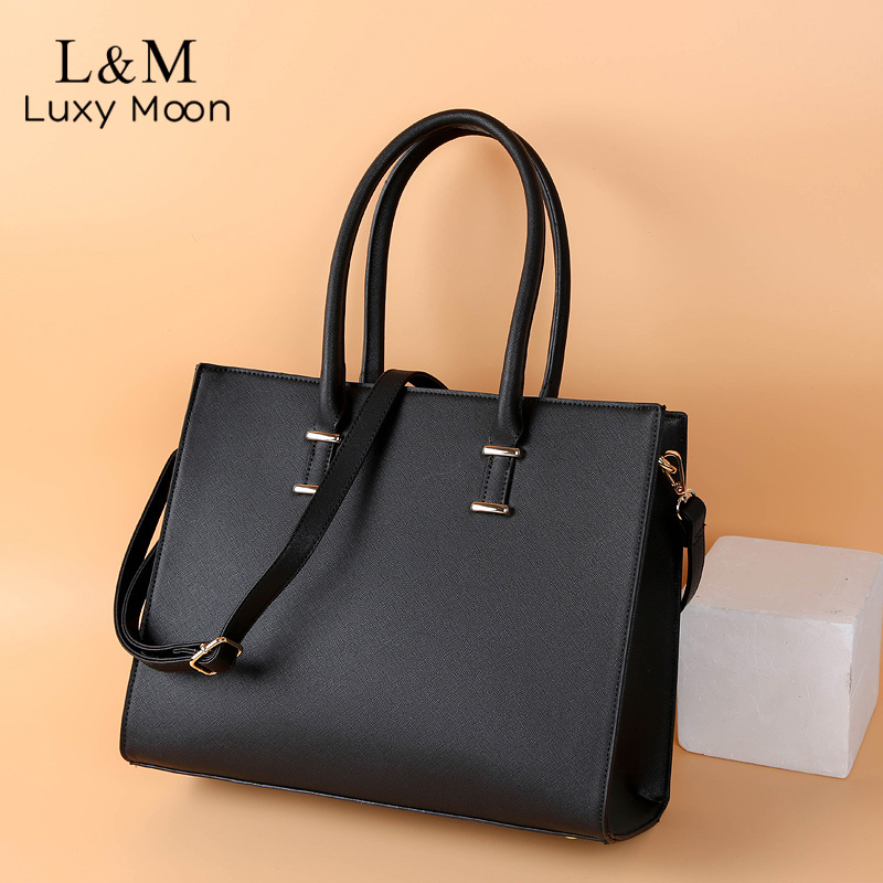 Women Briefcases Ladies Business Office Handbags For Femal PU Leather Handbag Crossbody Bag Large OL Bag Bolsa XA600H