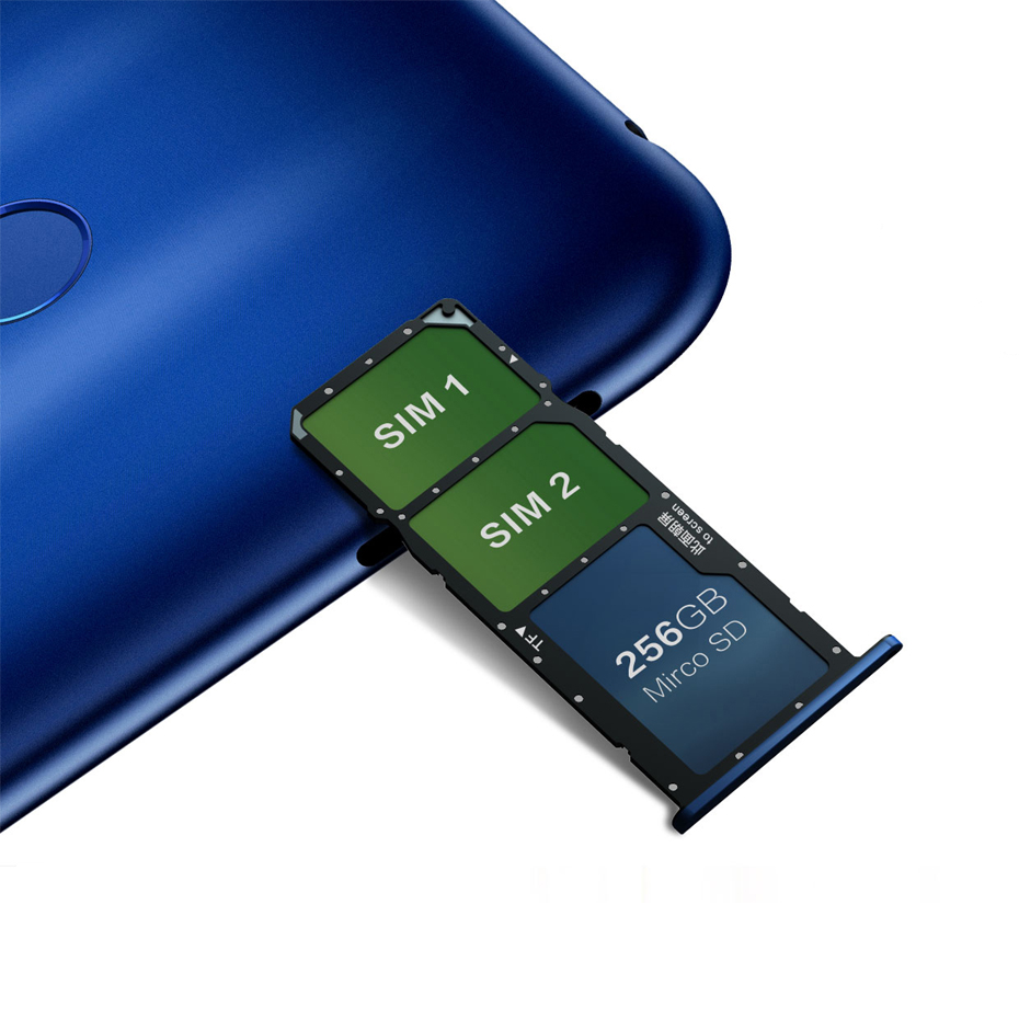 Honor 8C Global Rom 4GB RAM 128GB ROM 6.26 inch Full Screen Octa Core Smartphone 4000Mah 3 Cards VoLTE Face ID Snapdragon 632