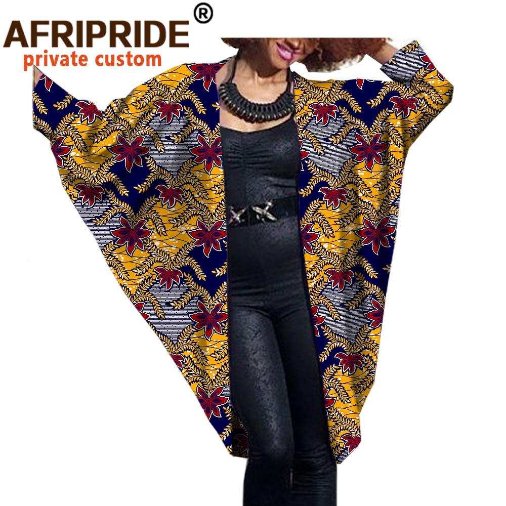Купить 2020 модное африканское женское пальто летучая мышь afripride