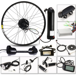Image 2 - Electric Bike Kit Motor Wheel 36V 350W 26 inch 1.95/2.10 Electric Bicycle Conversion Kit ebike E Bike mountain road speed bike