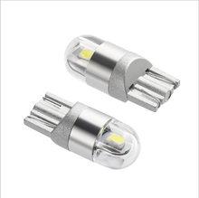 Fabricante de venda direta novo tipo luz t10led pequena lâmpada placa licença lâmpada t10 3030 2smd conduziu a lâmpada acessórios do carro