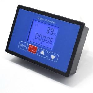 Image 3 - LCD Smart Digital Display 0~100% Tachometer adjustable 30A PWM DC Motor Speed Controller Timing Remote control 12V 24V 36V 48V