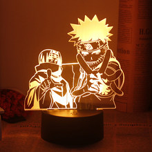Anime Light Comic Related Product Table Light Led Night Light for Narutoer Bedside Lamp Bedroom Decorative Lamp Atmosphere Lamp