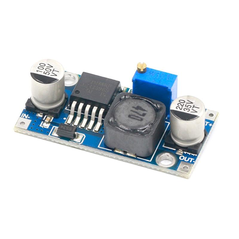 Smart Electronics Lm2596 LM2596S DC-DC 3-40V Adjustable Step-down Power Supply Module Voltage Regulator 3A