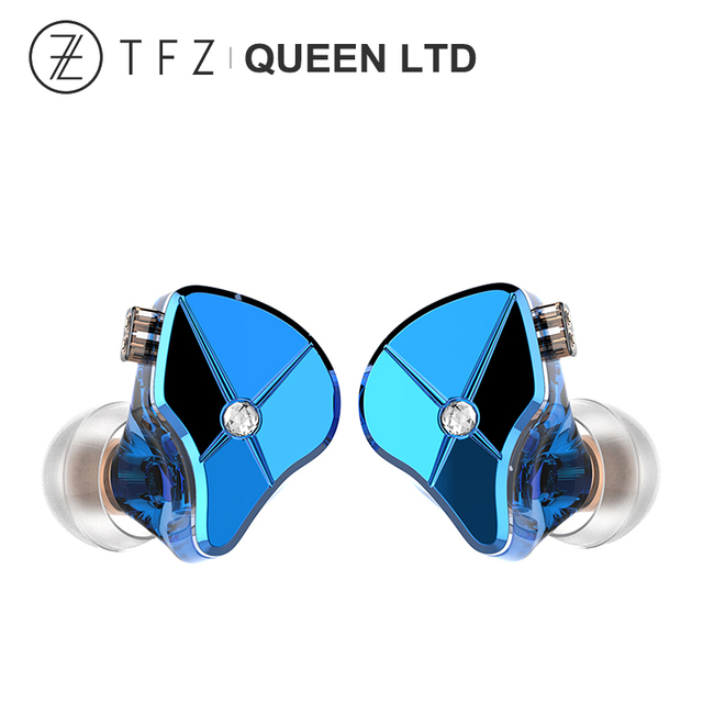 TFZ QUEEN LTD HiFi Audio Dual Cavity Dynamic Driver In-ear Earphone 2 Pin 0.78mm Detachable Cable 3rd Generation Tesla Unit 1