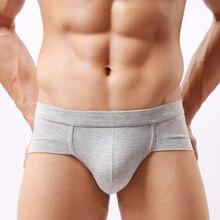 5 pièces/paquet boxeurs antes coton Shorts hommes sous vêtements marque Sexy