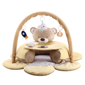 Play Blanket Safety Seat Baby Anti-Fall School Stool Play Mat Crawling Blanket Fitness Rack Baby Sofa