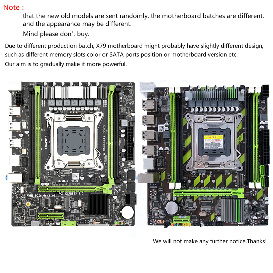 Image 3 - Kllisre X79 マザーボード Xeon で設定 LGA2011 E5 2620 V2 2 × 8 ギガバイト = 16  ギガバイト 1600MHz DDR3 ECC REG メモリ    グループ上の パソコン