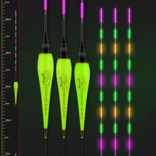 Funhe  Fishing Float Special Purple Light LED Luminous Floats High Brightness Fishing Bobbers High Sensible Electronic Floats new fishing float shallow water light led luminous floats high brightness fishing bobbers high sensible electronic floats