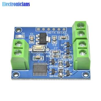 3,3 V-5 V a todo Color RGB LED controlador de tira módulo Escudo de tres vías integrado interfaz de comunicación en serie Mosfet para Arduino STM32