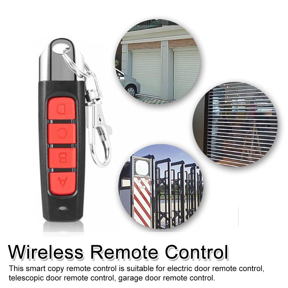 Universal Wireless Remote Control 433Mhz Receiver Module RF Transmitter Electric Cloning Gate Garage Pan Remote Control