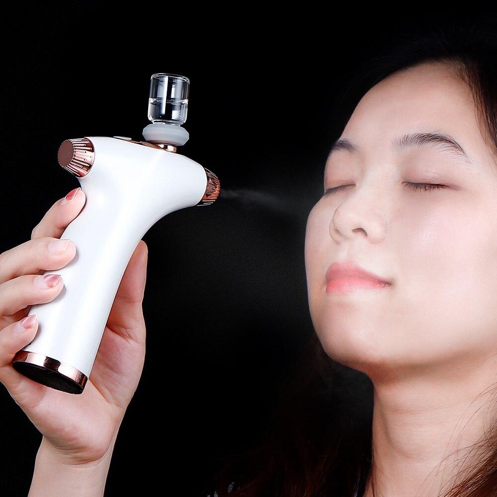 New USB Hydration Oxygen Meter High Pressure Air Pump Water Sprayer Portable Hydrating Oxygen Meter Skin Whitening Moisturizing