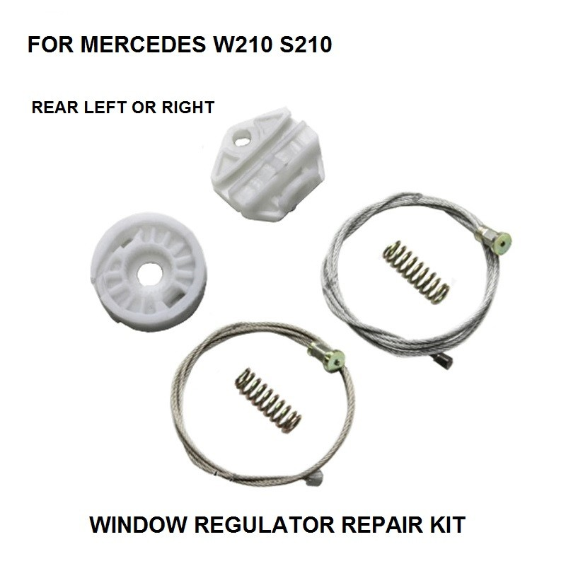WINDOW KIT FOR MERCEDES W210 S210 ELECTRIC WINDOW REGULATOR REAR-RIGHT 1995-2003
