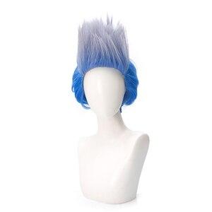 Image 1 - Descendants 3 Hades peluca corta de pelo sintético resistente al calor, disfraz de Cosplay, pelucas para fiesta de Halloween, juego de rol