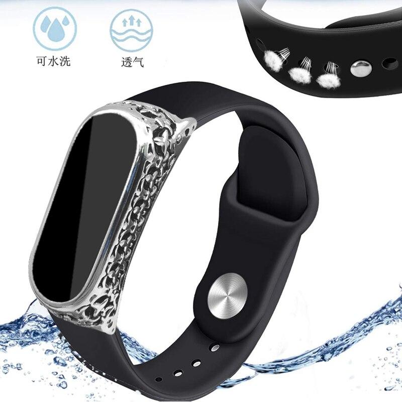 Watch Bracelet For Xiaomi Mi Band 4 3 Wrist Strap Colorful Watchband Cinturino For Xiaomi Mi Band 3 4 Watchstrap