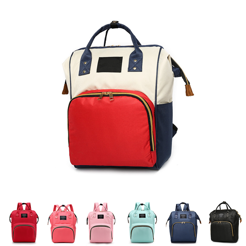Fashion Mummy Maternity Nappy Bag  For Stroller Large Capacity Baby Bag Travel Backpack Nursing Bag For Baby Care