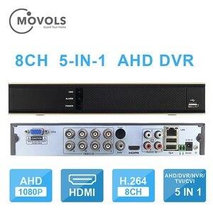 Image 2 - MOVOLS DVR 16CH 8CH CCTV Video Recorder For AHD Camera Analog Camera IP Camera Onvif P2P 1080P Video Surveillance DVR Recorder