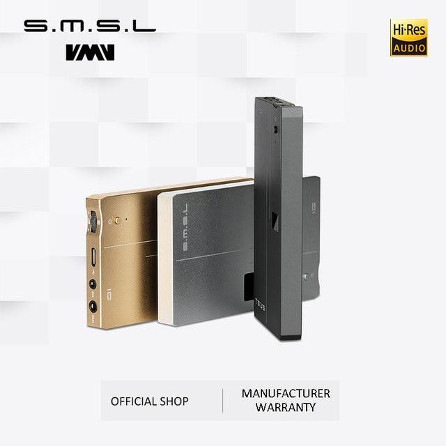 אישור SMSL IQ USB HI RES אוזניות מגבר עם DAC DSD512 PCM 768kHZ מובנה החייבת סוללה 2.5mm ו 3.5mm פלט