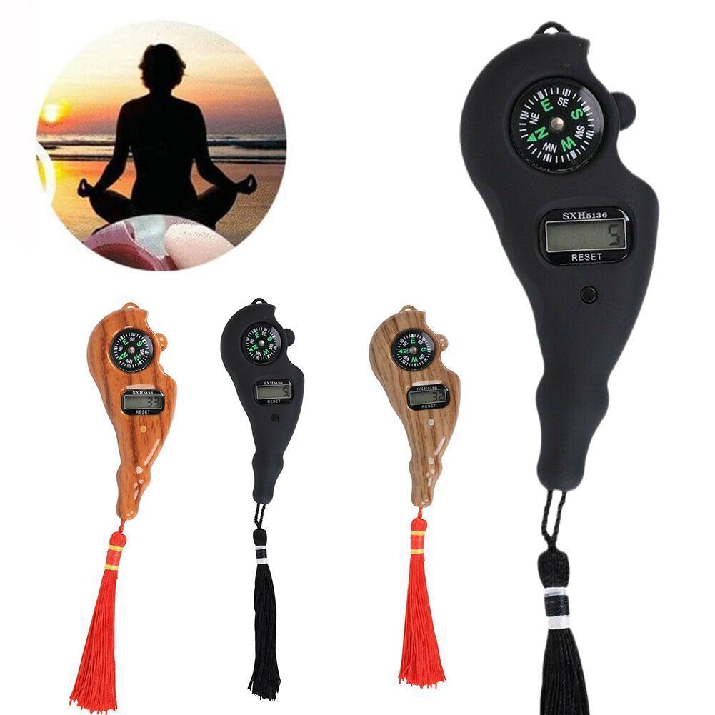 Portable Handheld Digital Beads Counter Electronic Rosary Rotating Prayer Bead With Qibla Compass Prayer Islamic Tasbih Eid Gift