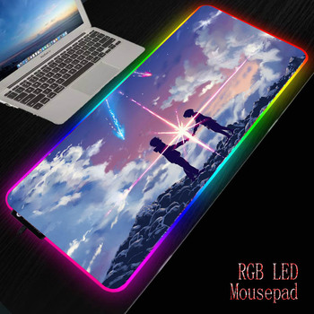 MRGBEST Your Name Anime Mouse pads Natural Rubber Mouse Pad Anti-slip Gaming Mouse Mat with Locking Edge for Gamer rakoon reejoyan gaming mouse pad anti slip pc computer gamer mousepad locking edge natural rubber mouse mat for cs go lol dota2