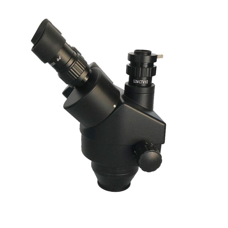 Image 5 - 7X 45X Simul Focal стерео микроскоп тринокулярный микроскоп 13MP VGA HDMI видео цифровая камера LED Регулируемый свет ремонт телефонаМикроскопы    АлиЭкспресс
