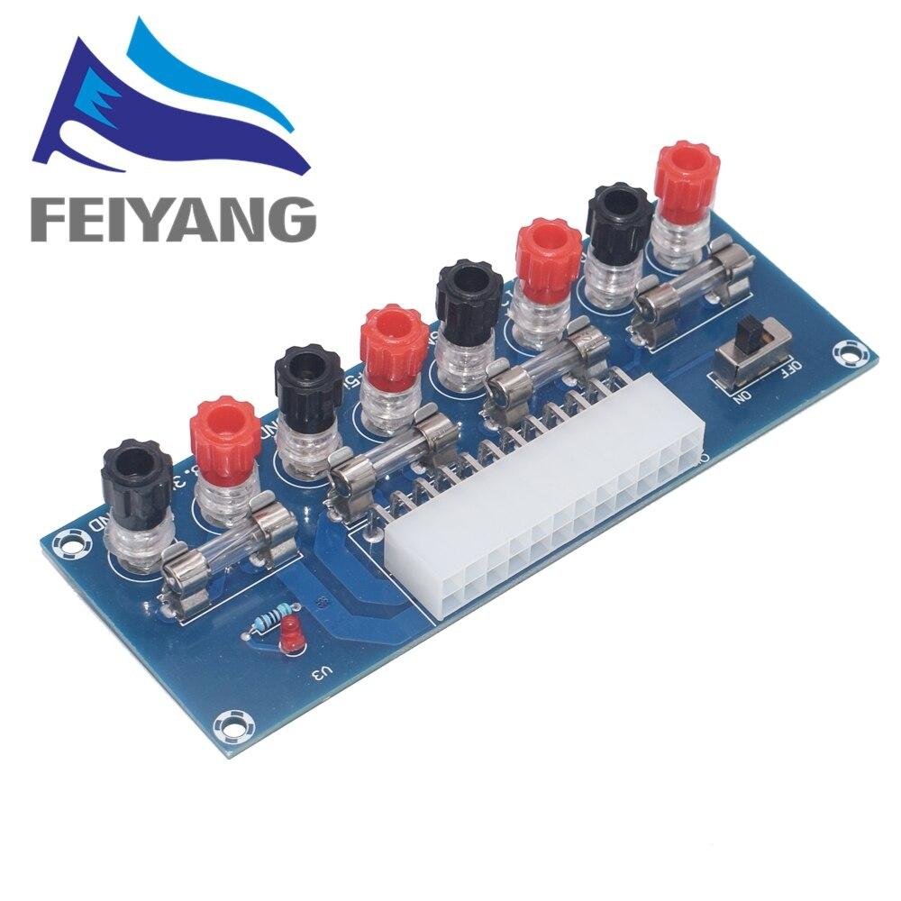 XH-M229 блок Питания Настольного шасси ATX, плата адаптера на вынос, выходной терминальный Модуль блока питания
