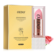 3.5g Rose Peptide Nourishing Colorful Lip Balm Anti Aging Antifreeze Anti-chapped Lip Balm недорого