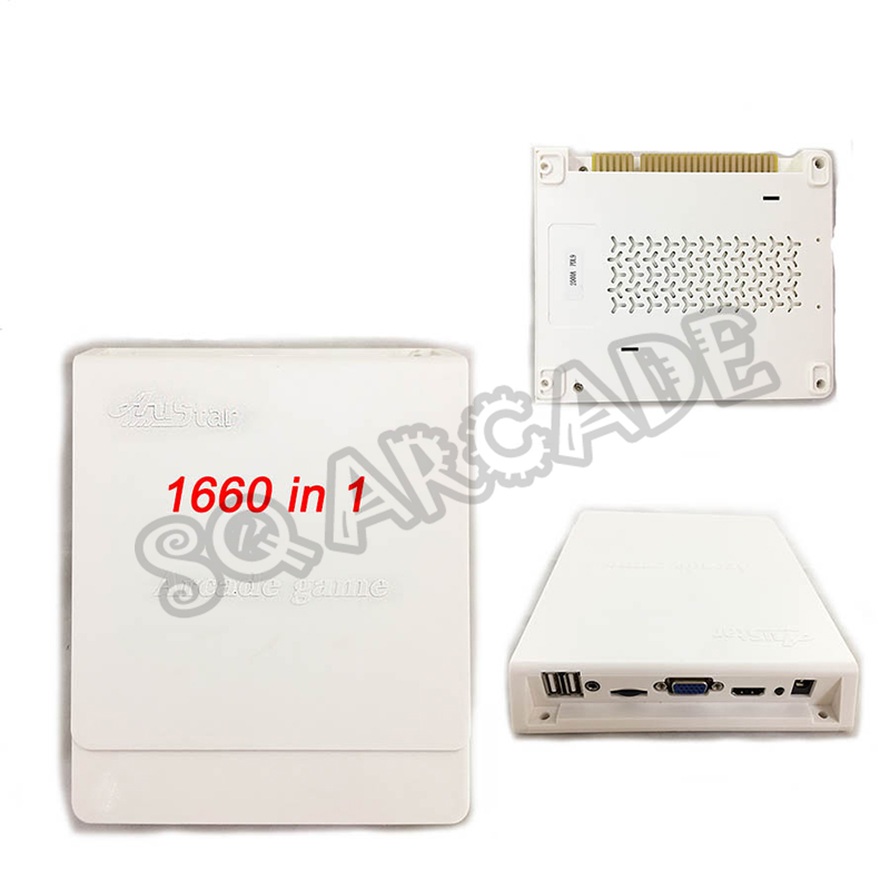 3D game box 1660 in 1/2600 in 1 VGA HDMI Arcade 1 PCB Multi Games Board pandora Jamma Arcade Board support 15 Hz CRT USB handle(China)