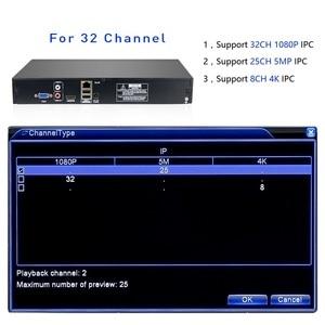 Image 3 - Hiseeu 2HDD 25CH 5MP 32CH 1080P 8CH 4Kกล้องวงจรปิดH.264/H.265 NVR DVRเครื่องบันทึกวิดีโอเครือข่ายONVIF 2.0 สำหรับกล้องIP 2 SATA XMEYE P2P