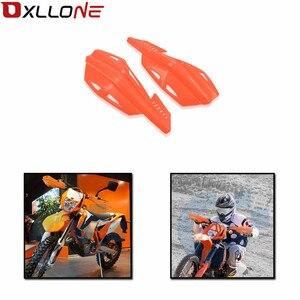 Image 1 - Para Kawasaki DR Z125L RM85 RM Z250 RM Z450 RM85L RMX250 RMX450Z motocross handguards Mão guardas motocicleta acsesorios DRZ125L