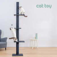 Large Cat scratcher Climb Babel Cat Catch Column Cats Diving Platform Plate Four Seasons Cat Toys Multi storey pet products