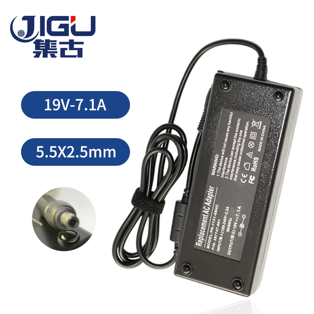 JIGU Replacement For Acer <font><b>19V</b></font> 7.1A 5.5*2.5MM 135W Universal <font><b>Notebook</b></font> Laptop AC Charger Power <font><b>Adaptor</b></font> free shipping image