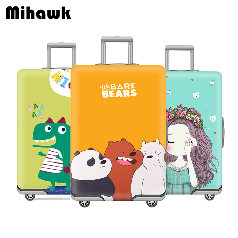 Mihawk Luggage-Cover Suitcase Dust-Bag Trolley Travel-Accessories Protect Student Cartoon
