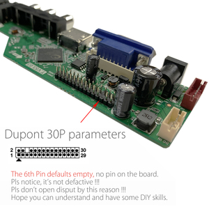 Image 3 - T.V53.03 Universal LCD LED TV Controller Driver Board TV/PC/VGA/HDMI/USB+IR+7 Key button Switch Russian Replace T.RD8503.03 SKR