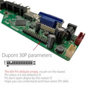 Image 3 - T.V53.03 evrensel LCD LED TV denetleyici sürücüsü kurulu TV/PC/VGA/HDMI/USB + IR + 7 anahtar düğmesi anahtarı rus değiştirin T.RD8503.03 SKR