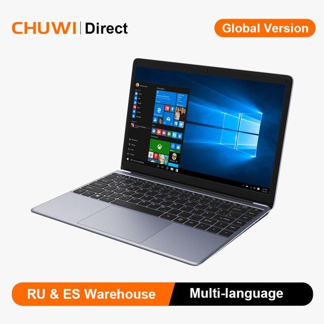 CHUWI HeroBook Pro Intel N4000 Dual Core Windows 10 Laptop 14.1 Inch FHD IPS Screen 8GB 256GB Computer Bluetooth 4.0 1